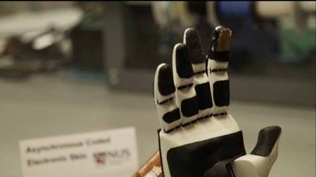New e-skin Innovation by NUS Researchers Gives Robots and Prosthetics An Exceptional Sense of Touch