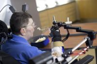Man with Quadriplegia Employs Injury Bridging Technologies to Move Again -- Just by Thinking