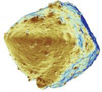 Asteroid Ryugu in False Color