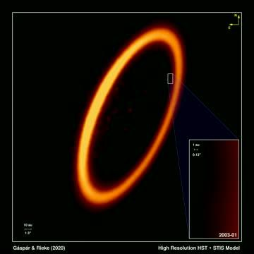 Hubble Movie Captures Protoplanetary Collision in the Fomalhaut Star System