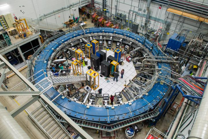 The Muon g-2 Magnet Ready to Begin its Quest