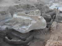 Excavation at Tell Edfu, Egypt