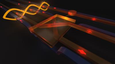 A Quantum Fredkin Gate