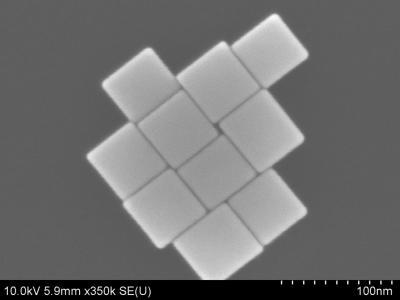 Perfect-edged Nanocubes