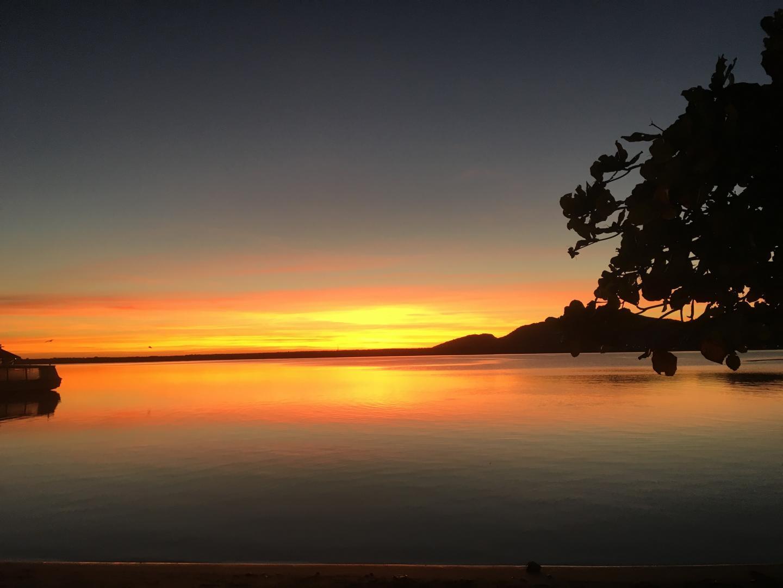 Sunrise Over the Brazilian Coastline