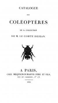 Dejean's Catalog