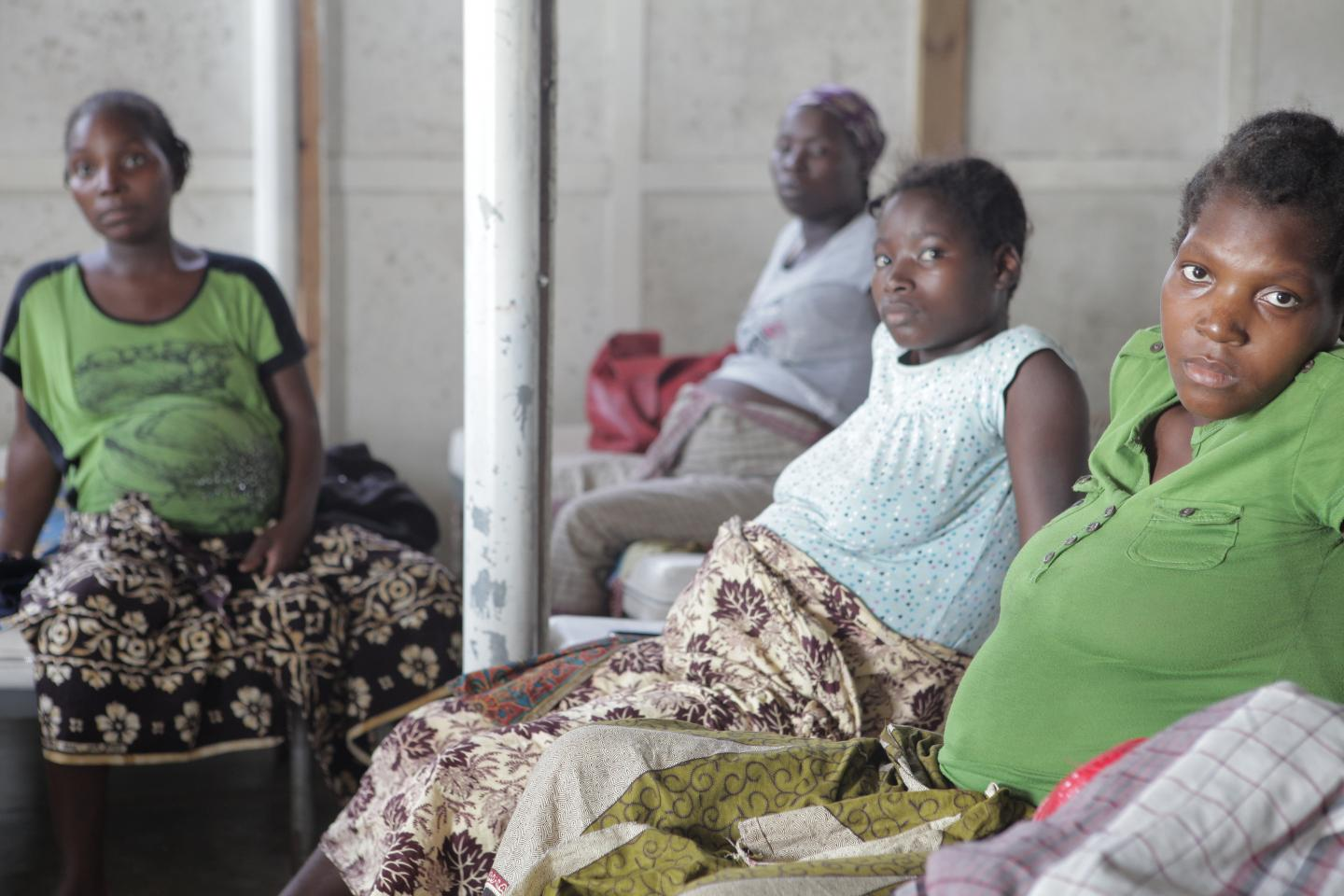 Pregnant Women at Health Care Clinic