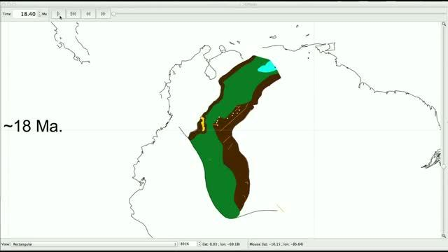 Extension of Continental, Marginal and Marine Environments