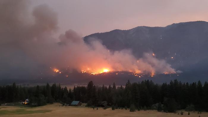 2021 Cedar Creek fire