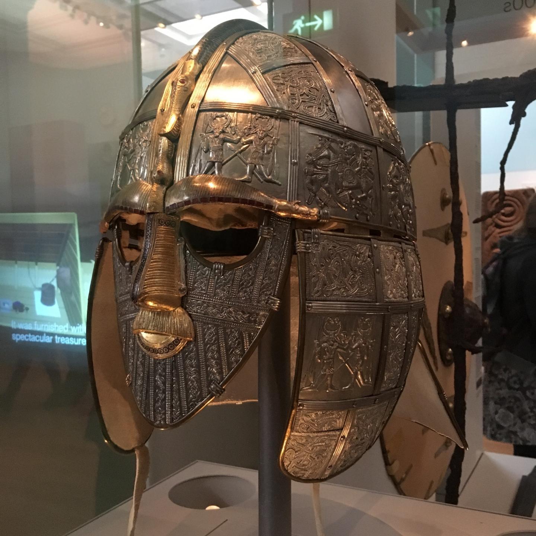 Ango-Saxon Object Sutton Hoo Helmet