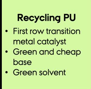 Manganese-based method for recycling polyurethane (PU)