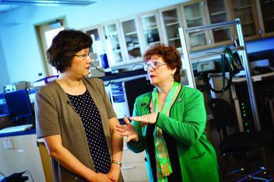 Hanli Liu and Alexa Smith-Osborne, University of Texas at Arlington