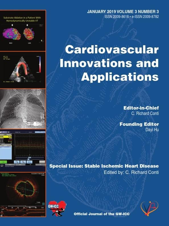 Cardiovascular Innovations and Applications Journal (Volume 3 Issue 3).