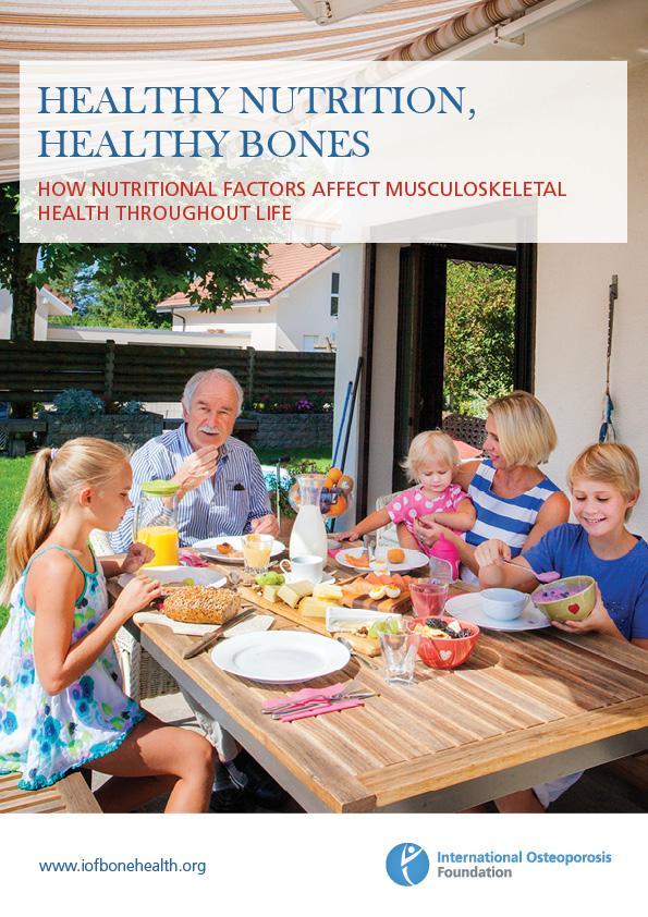 Healthy Nutrition, Healthy Bones