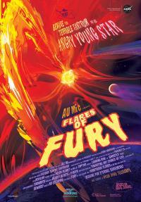 Stylized AU Microscopii 'Movie Poster'
