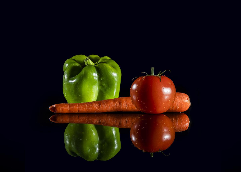 Vegetable Photo Illustration