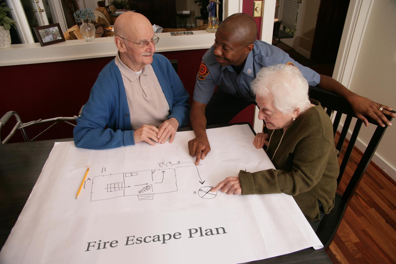 Escape Planning for Senior Couple