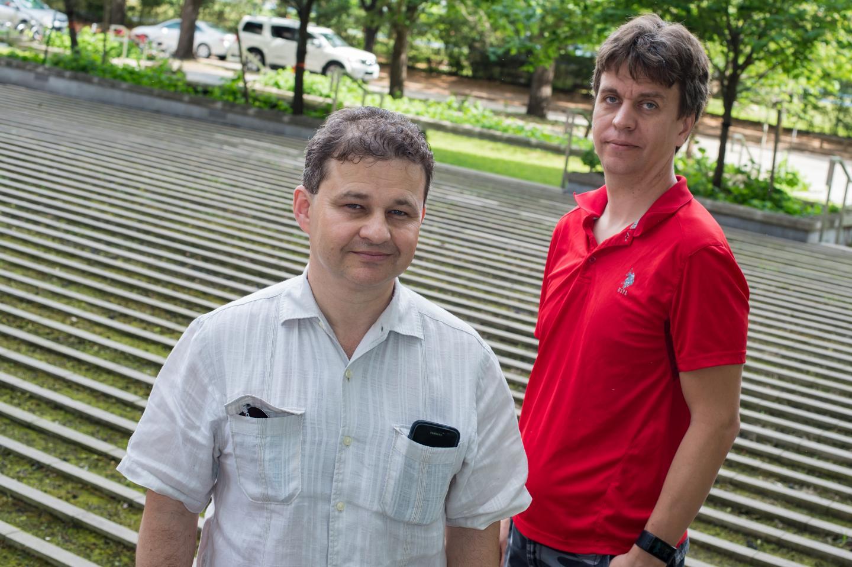 Anatoly Kolomeisky and Oleg Igoshin