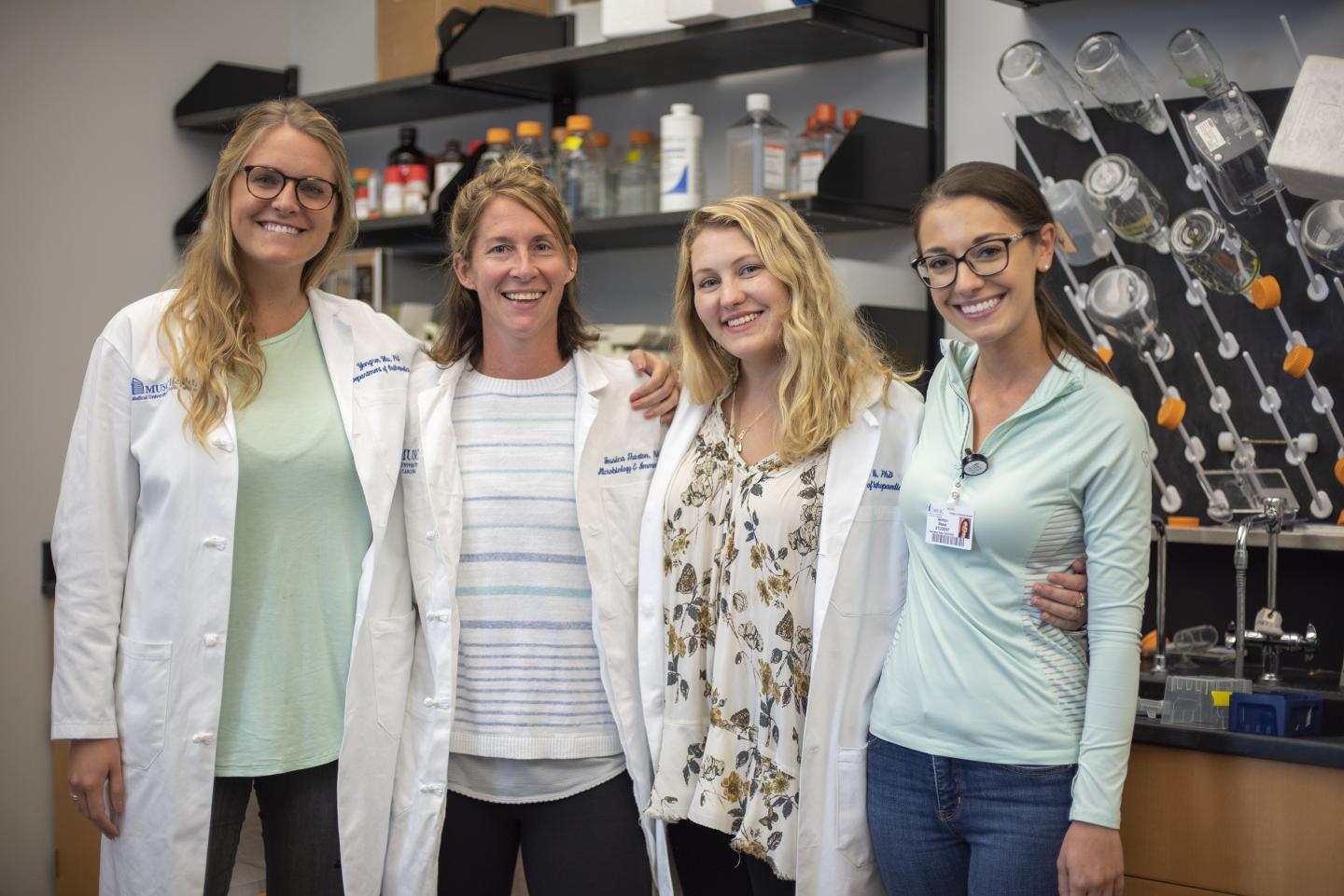 Researcher Dr. Jessica Thaxton and Colleagues of Hollings Cancer Center
