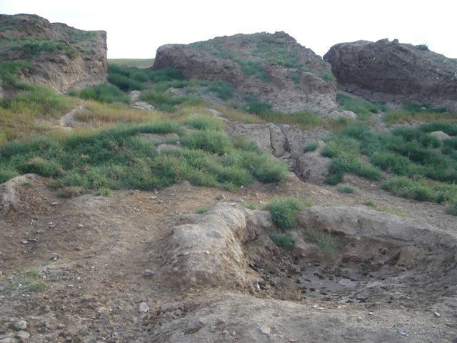 Spot in Salkhit Valley Where the Relic Was Found