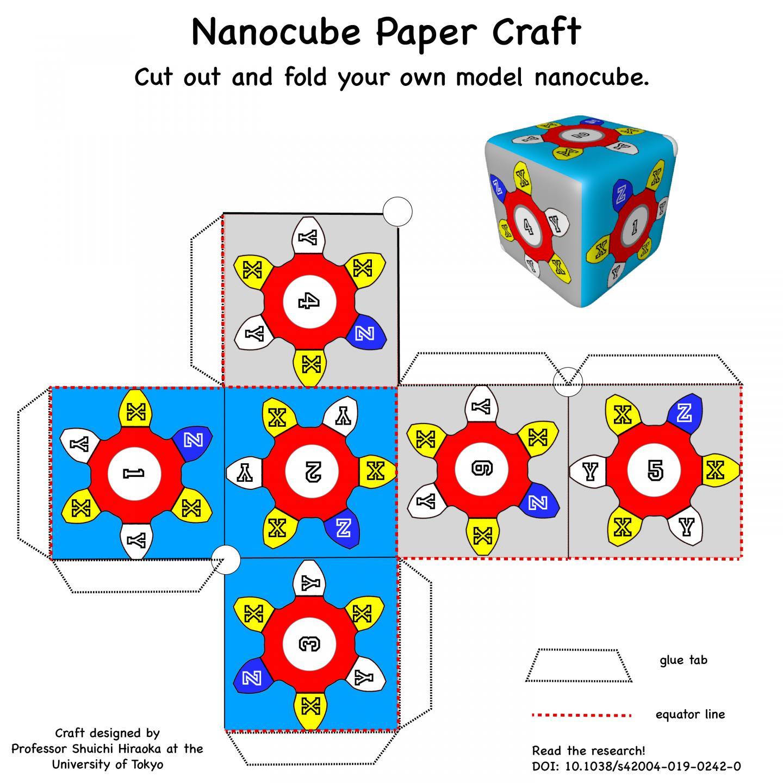 Nanocube Paper Craft