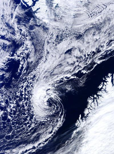 A Polar Low Over the Norwegian Sea