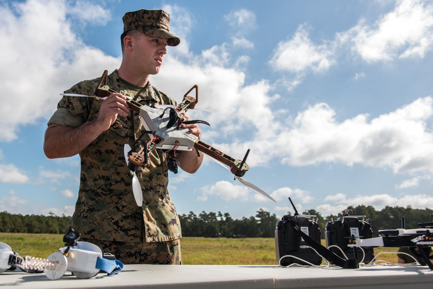 Army Helps Marines 3-D Print Drones in the field
