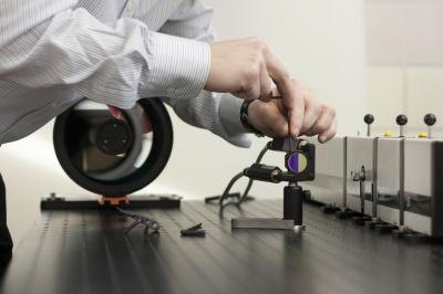 Raman Spectroscope at Vienna University of Technology