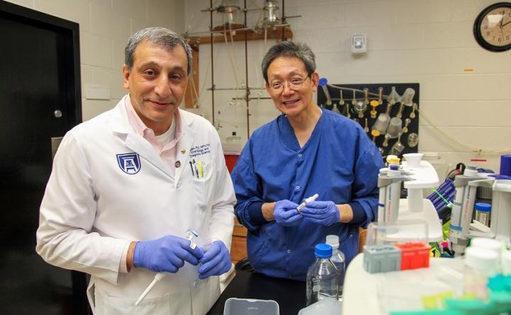 Drs. Babak Baban and Jack Yu