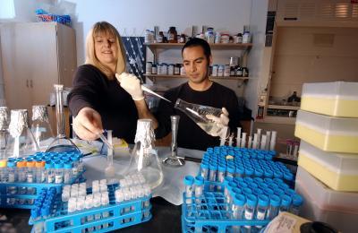 Graduate Students Study Bacteria That Converts Uranium Contamination