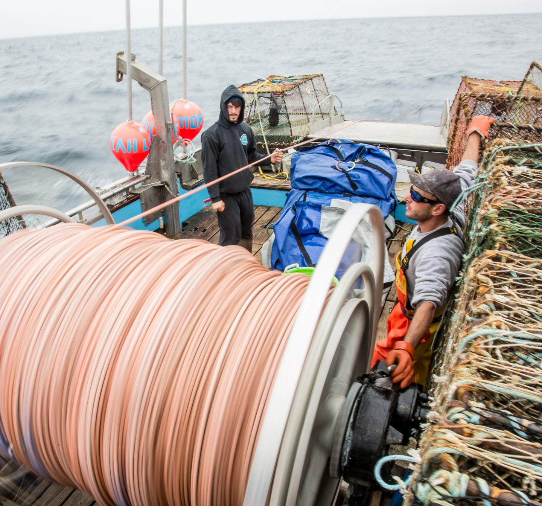 Fishing for Sablefish off California