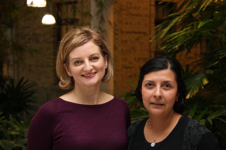 Jen Gommerman and Olga Rojas, University of Toronto