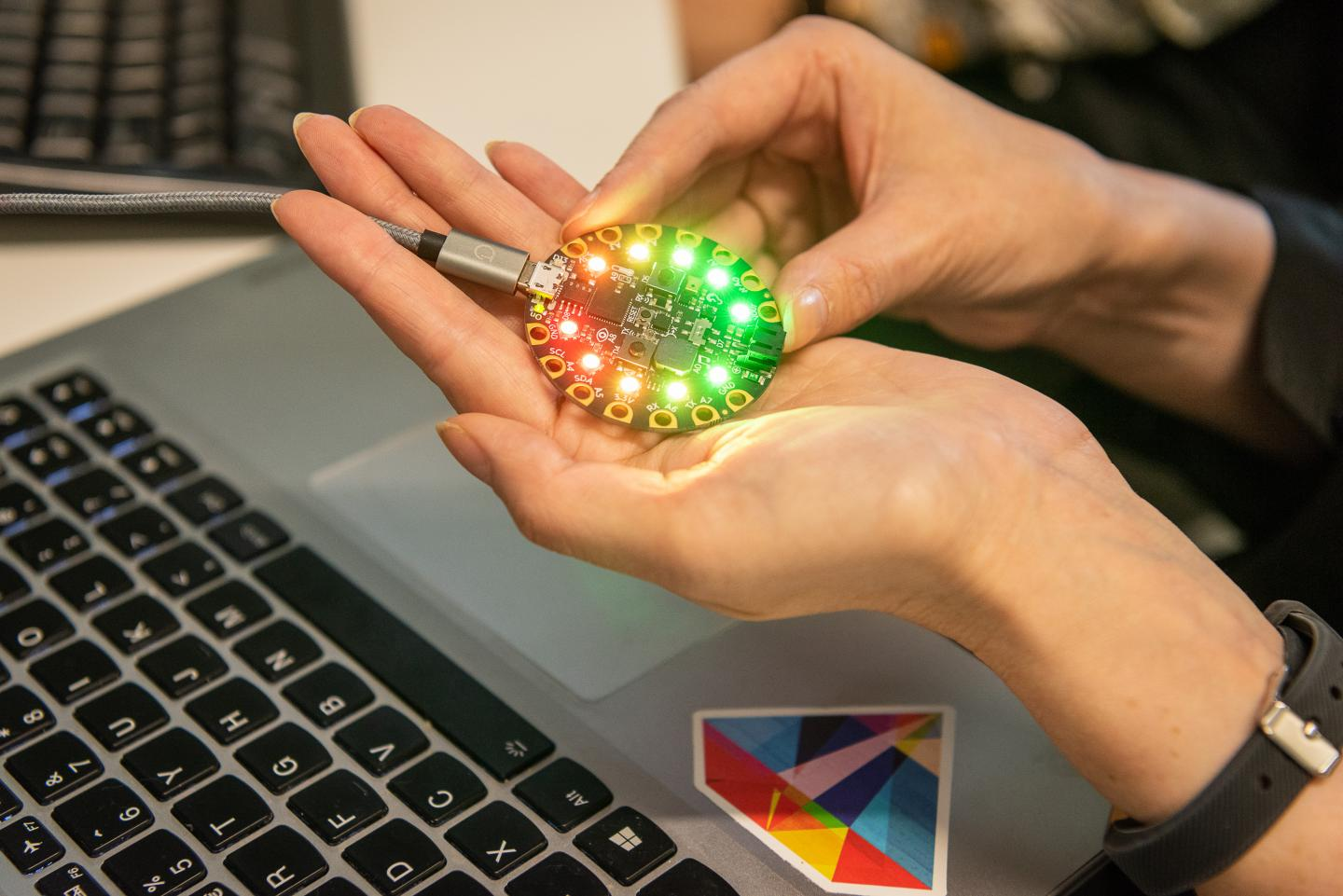 The Adafruit Circuit Playground Will Nudge People into Better Cyber Security Habits
