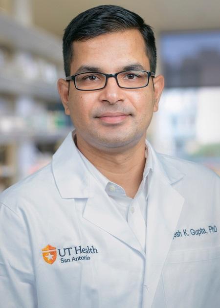 Yogesh K. Gupta, PhD, UT Health San Antonio