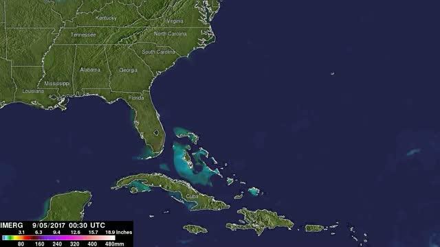 Rainfall from Irma