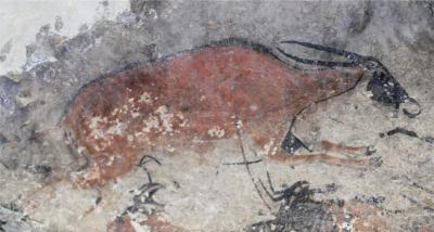 Eland Rock Art in the RSA
