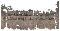 Detail of the Papyrus Louvre-Carlsberg