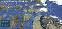 Northwest Passage Project -- Route of the Icebreaker Oden
