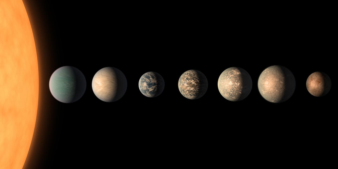 Exoplanets (Artist's Concept)