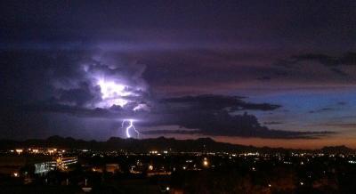 Tucson Summer Thunderstorm