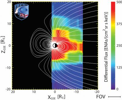 Where Magnetic Field Lines are Expected in Earth's Magnetic Atmosphere