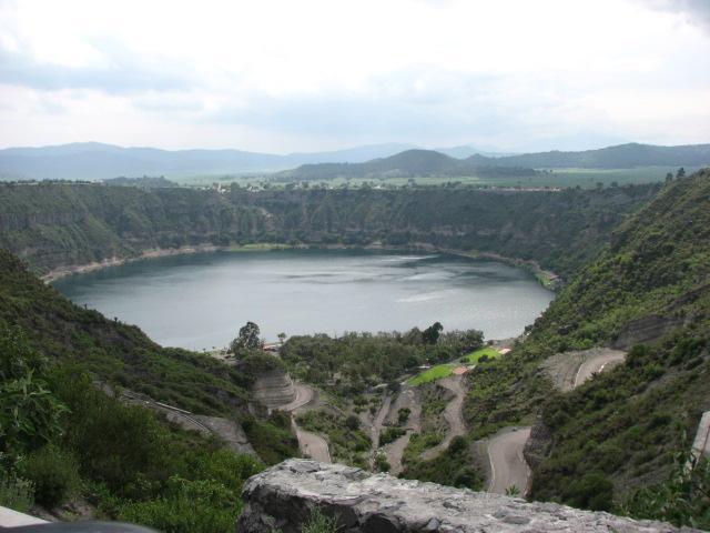 Maar Lake Aljojuca
