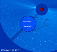 SOHO's 3,999th and 4,000th Comet Discoveries