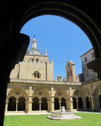 The Old Cathedral of Coimbra (Portugal)