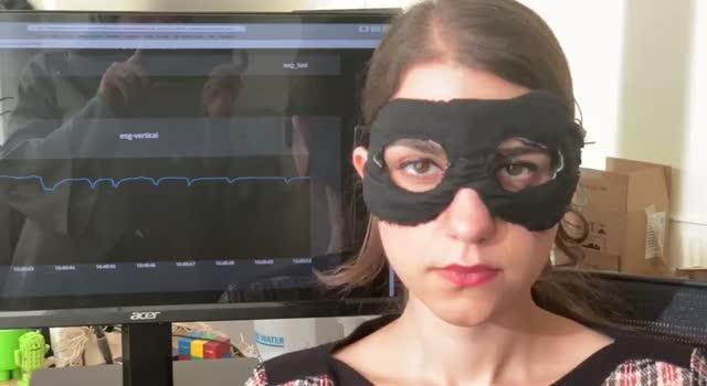 Video of Chesma Tracking Eye Movement