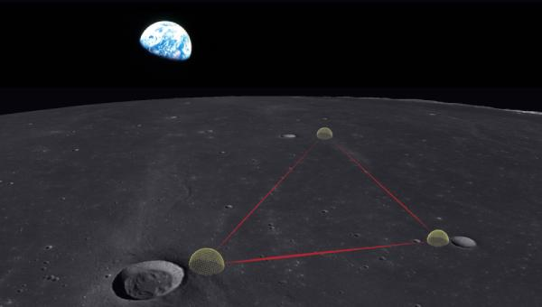 Conceptual design of Gravitational-wave Lunar Observatory for Cosmology on the surface of the moon.