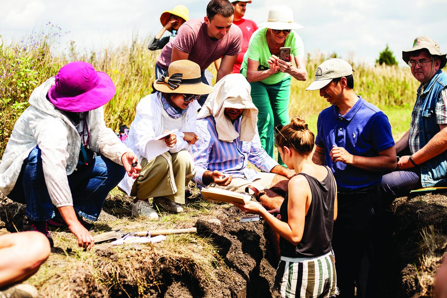 RUDN University Summer School of Soil Sciences Covered 5 Climatic Zones from the Barents Sea to the Azov Sea
