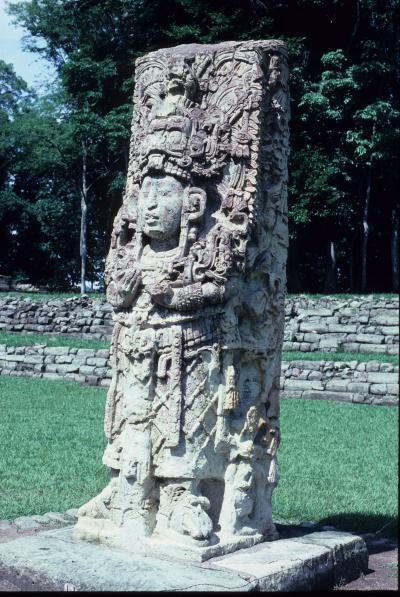 Classic Maya (AD 250-900) Stone Sculpture