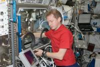Astronaut De Winne Performs InSPACE-2