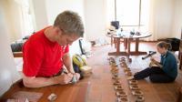 Researchers Prepare Baboon GPS Collars